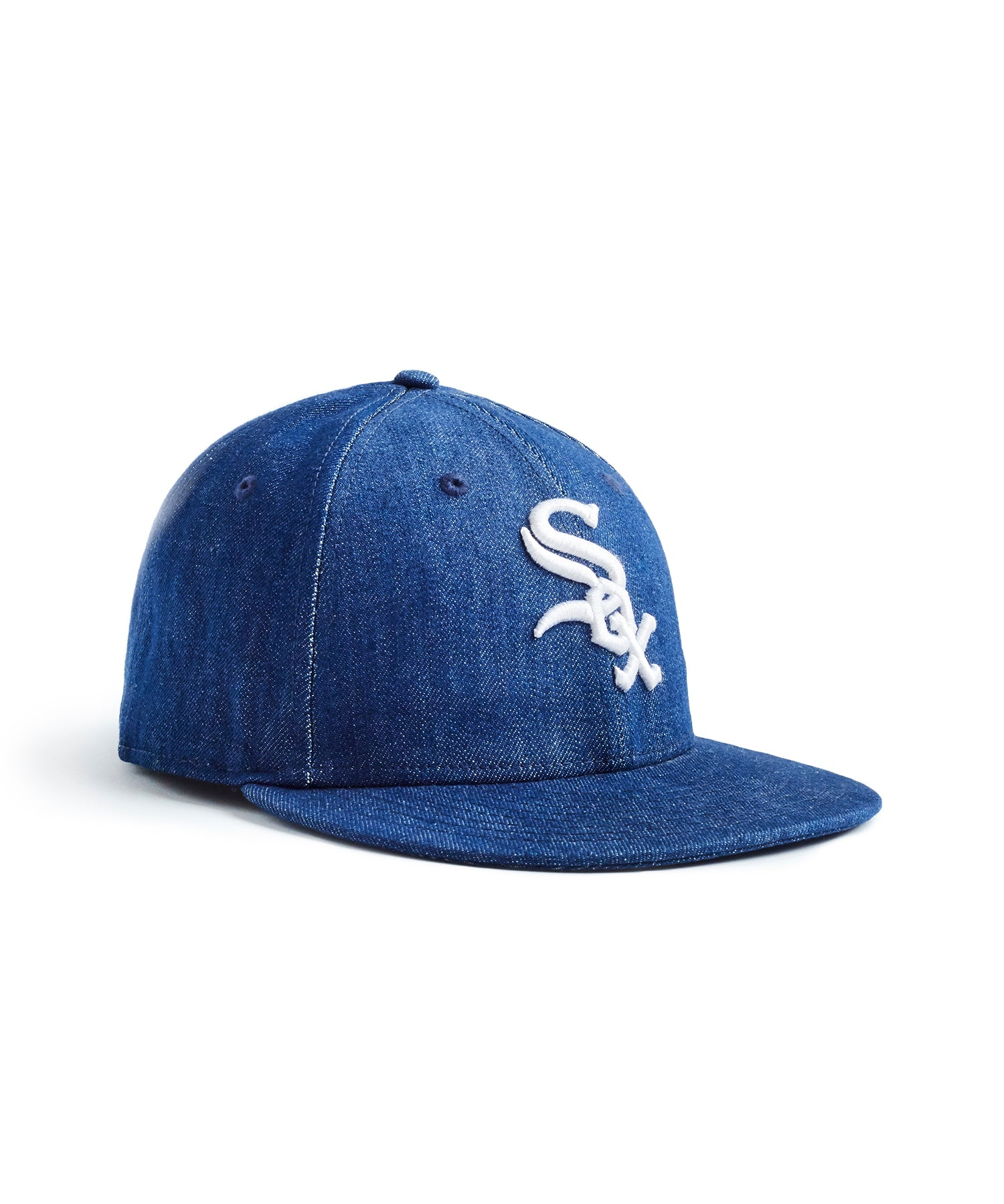 TODD SNYDER + NEW ERA MLB CHICAGO WHITE SOX CAP IN CONE DENIM