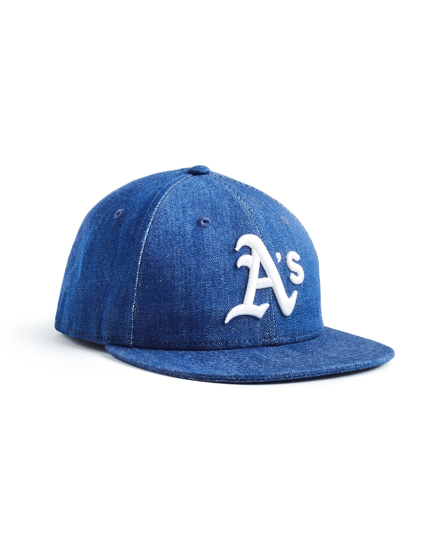 TODD SNYDER + NEW ERA MLB OAKLAND ATHLETICS CAP IN CONE DENIM