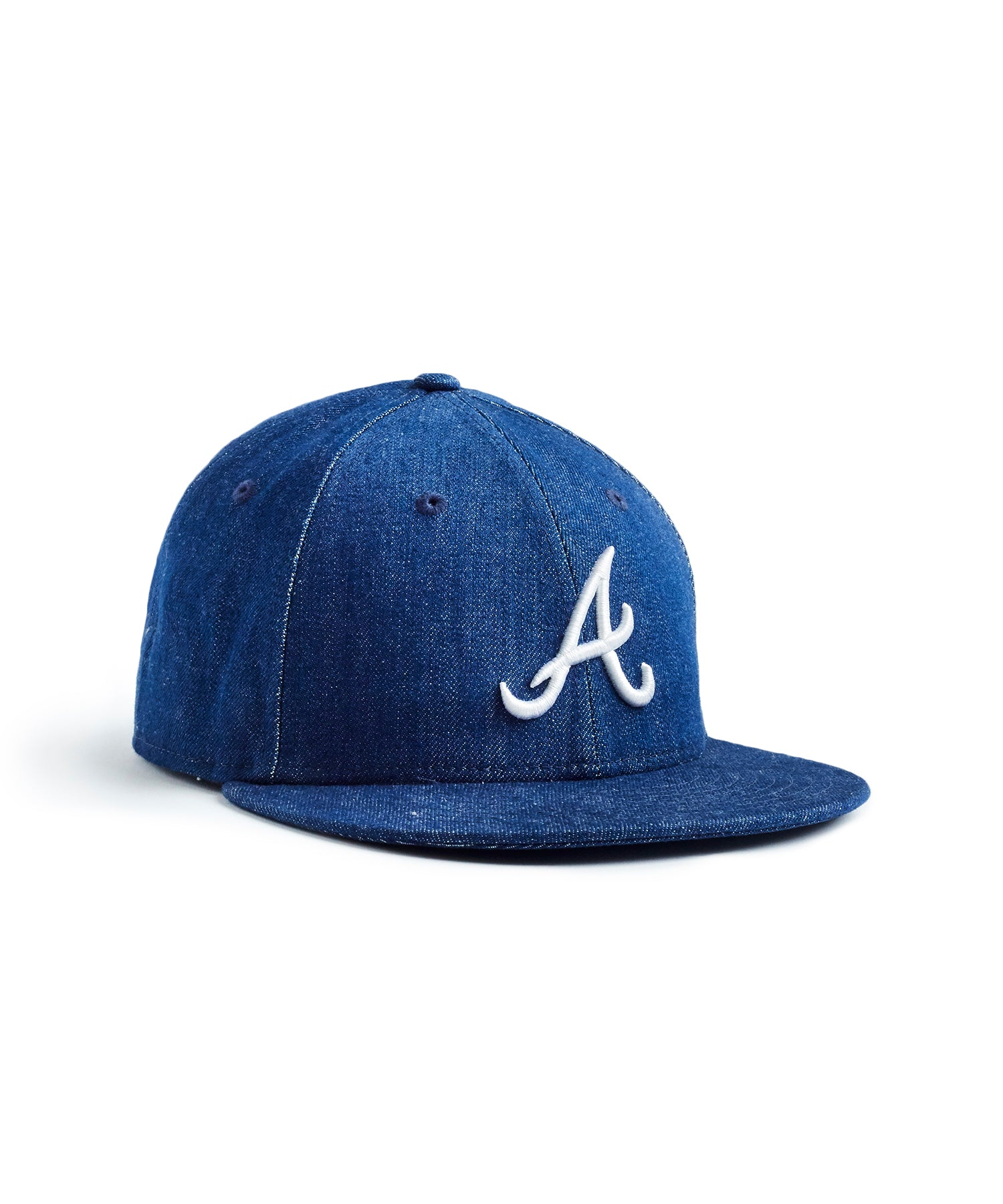 TODD SNYDER + NEW ERA MLB ATLANTA BRAVES CAP IN CONE DENIM
