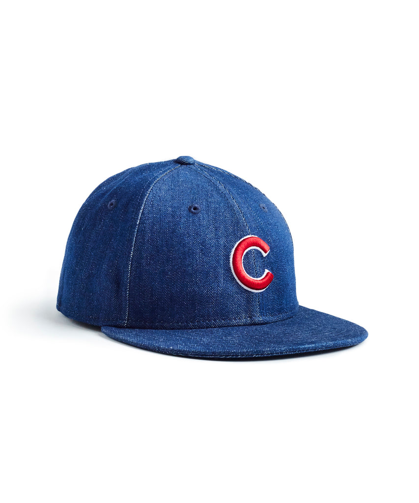 cea5838ac48 todd snyder + new era mlb chicago cubs cap in cone denim