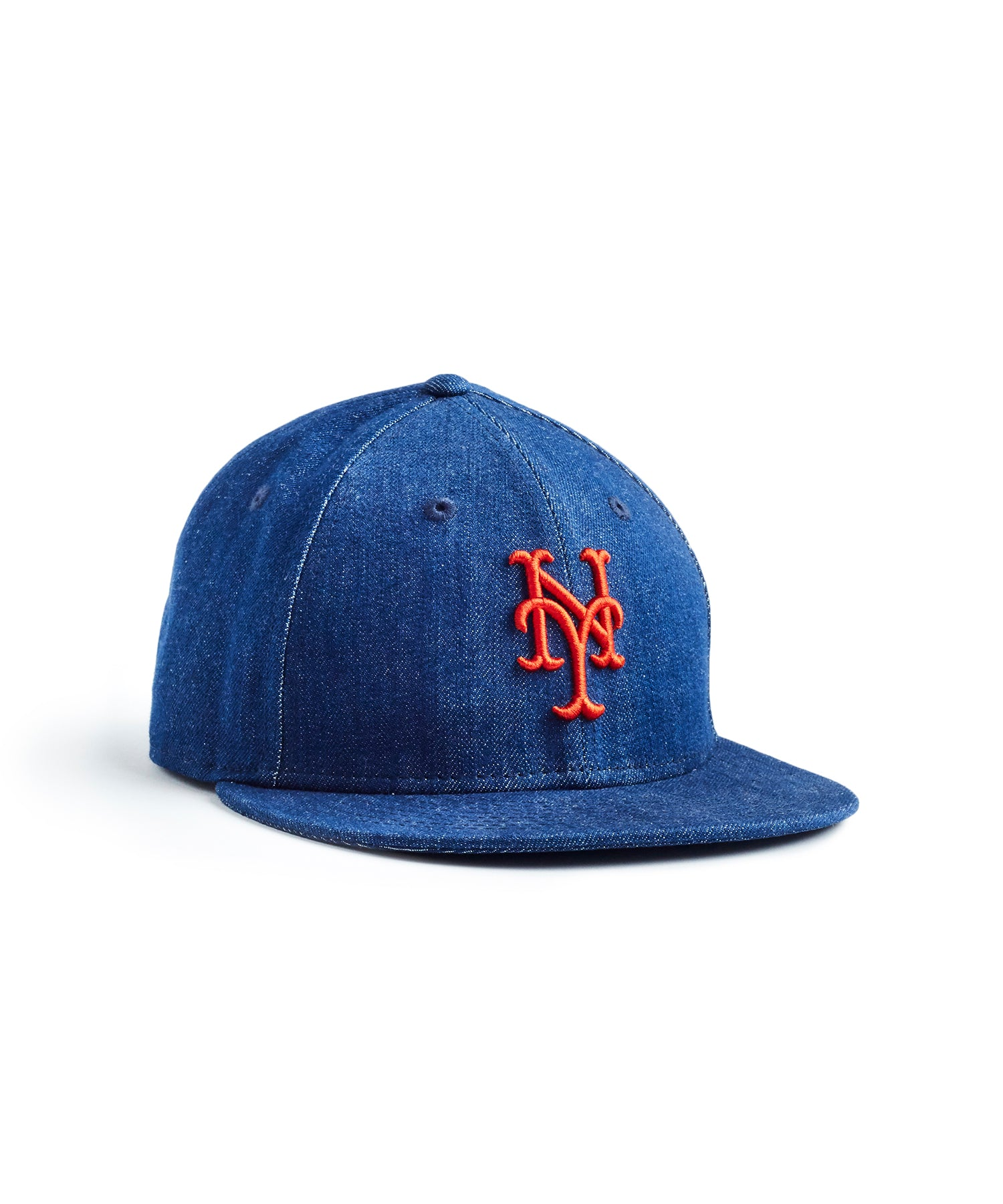 TODD SNYDER + NEW ERA MLB NEW YORK METS CAP IN CONE DENIM