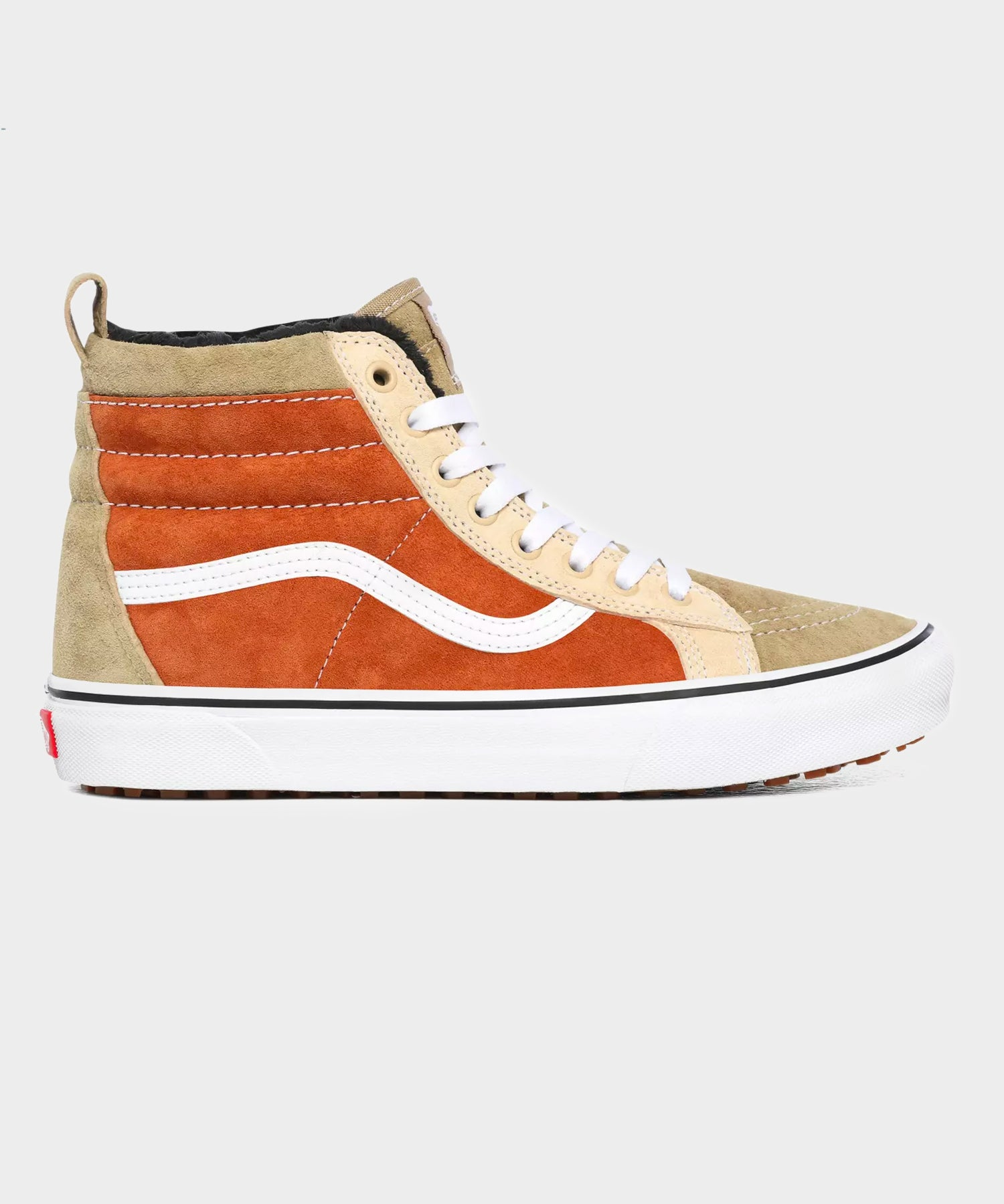 Vans Sk8-Hi MTE in Orange & Tan