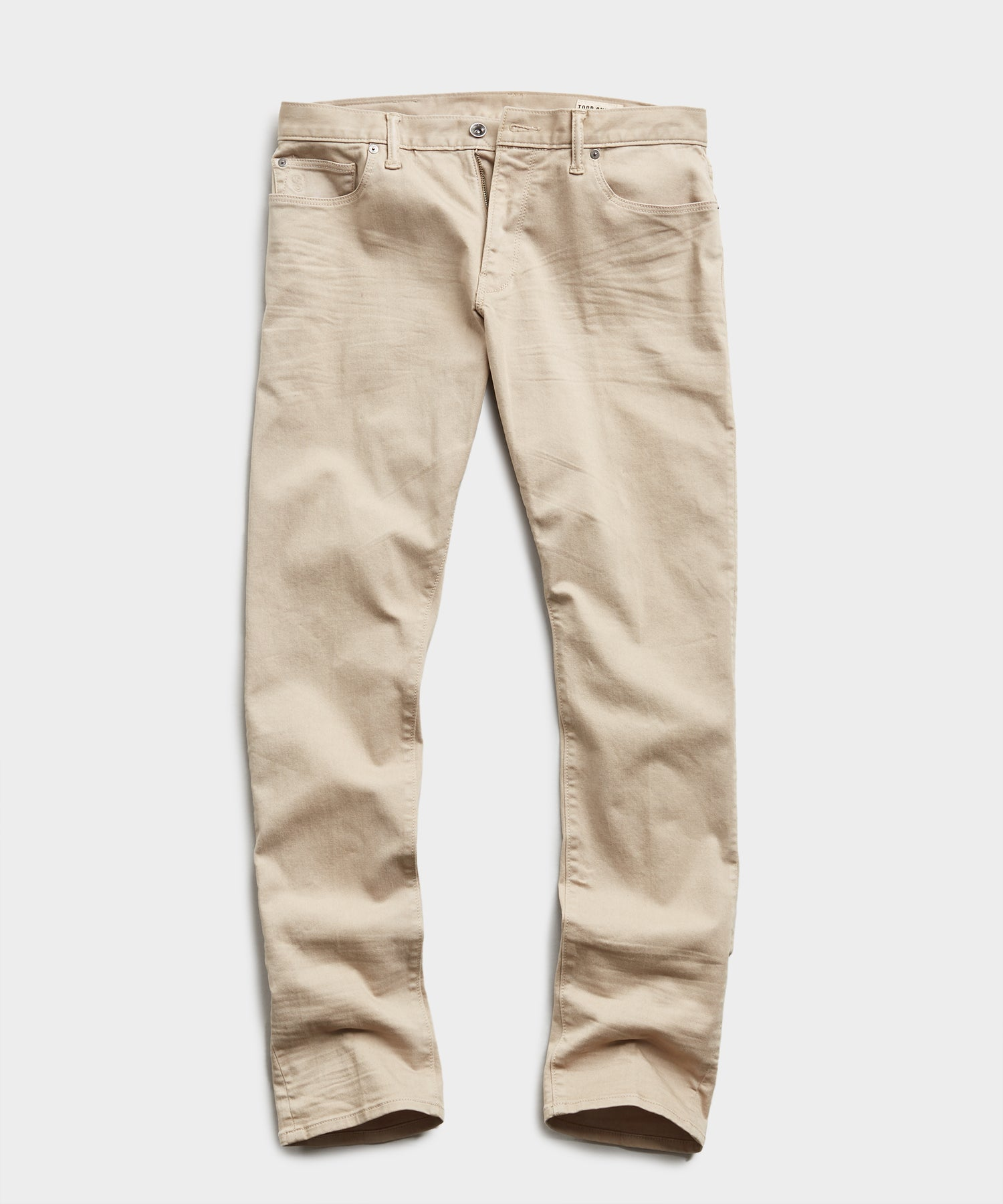 SLIM FIT 5-POCKET CHINO IN CASUAL KHAKI
