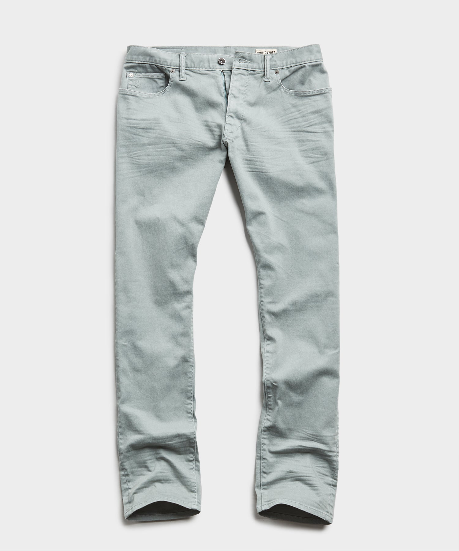 Slim Fit 5-Pocket Chino in Pistachio