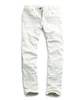 5-Pocket Garment-Dyed Stretch Twill in White Alternate Image