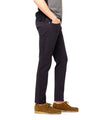 Slim Fit 5-Pocket Garment-Dyed Stretch Twill in Navy