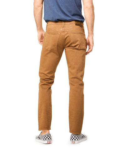 5-Pocket Garment-Dyed Stretch Twill in Caramel