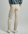 Slim Fit 5-Pocket Garment-Dyed Stretch Twill in Casual Khaki