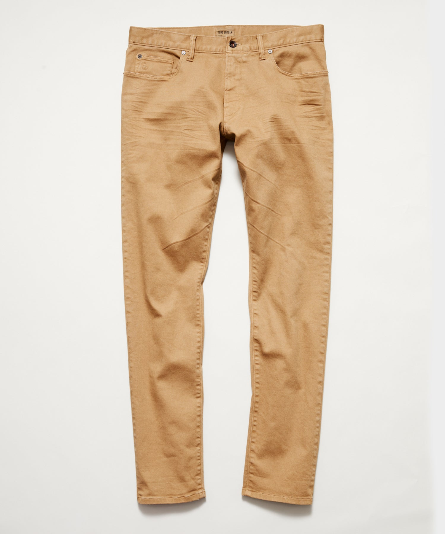 SLIM FIT 5-POCKET CHINO IN BARLEY