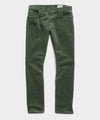 Slim Fit 5-Pocket Stretch Italian Cord in Eucalyptus