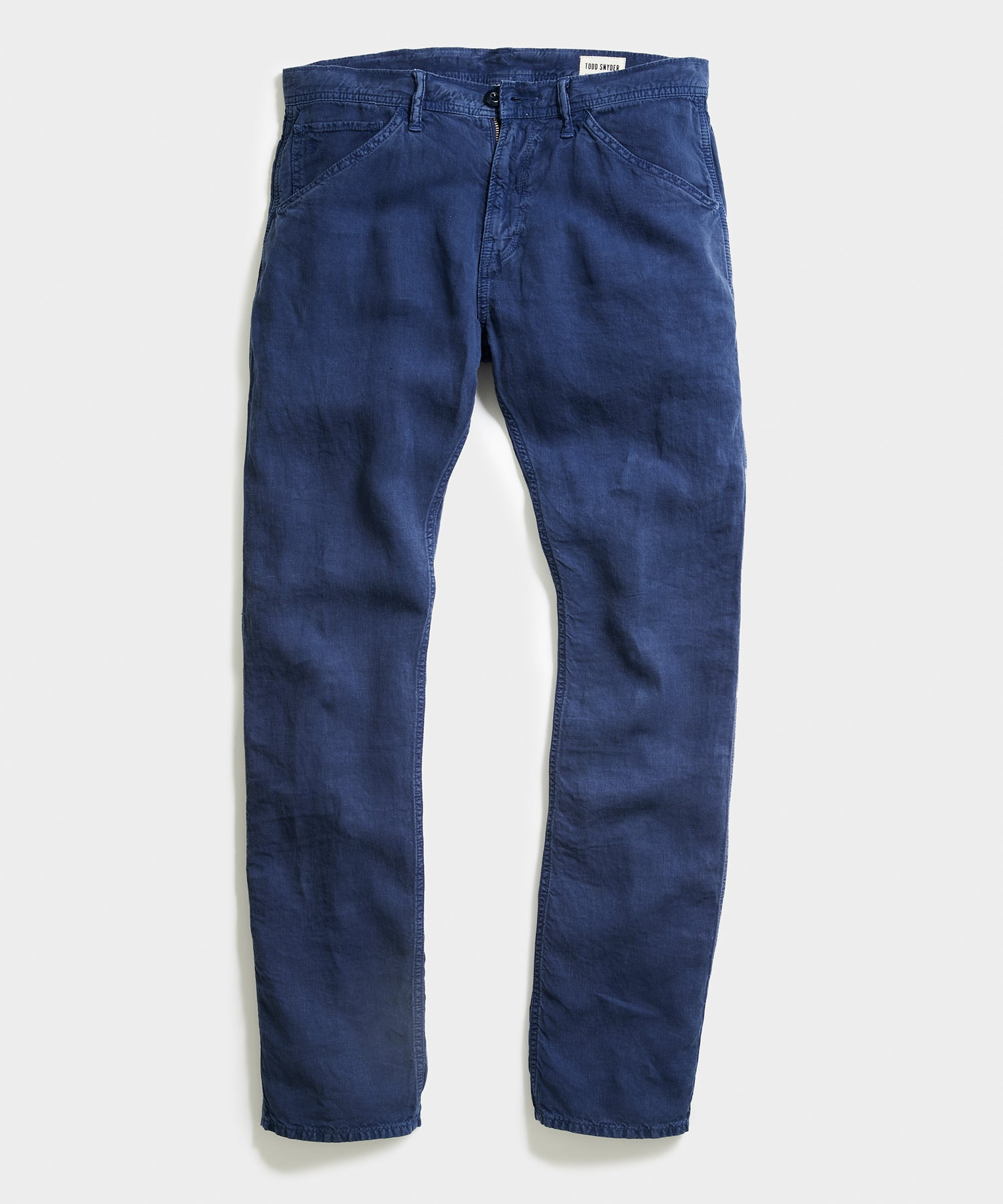 Italian Linen Carpenter Pant in Bluegrass
