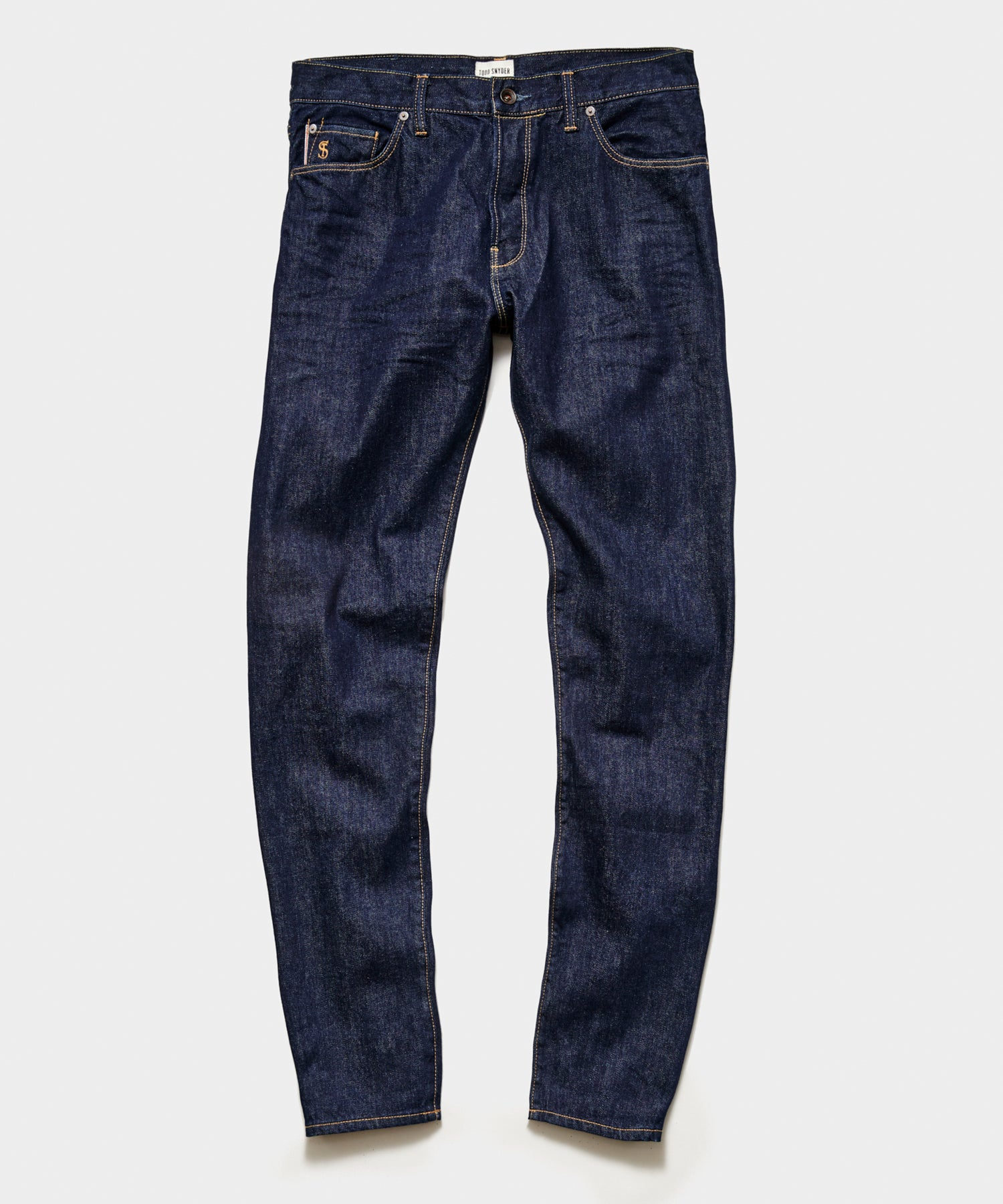 Straight Fit Selvedge Jean in Indigo Rinse