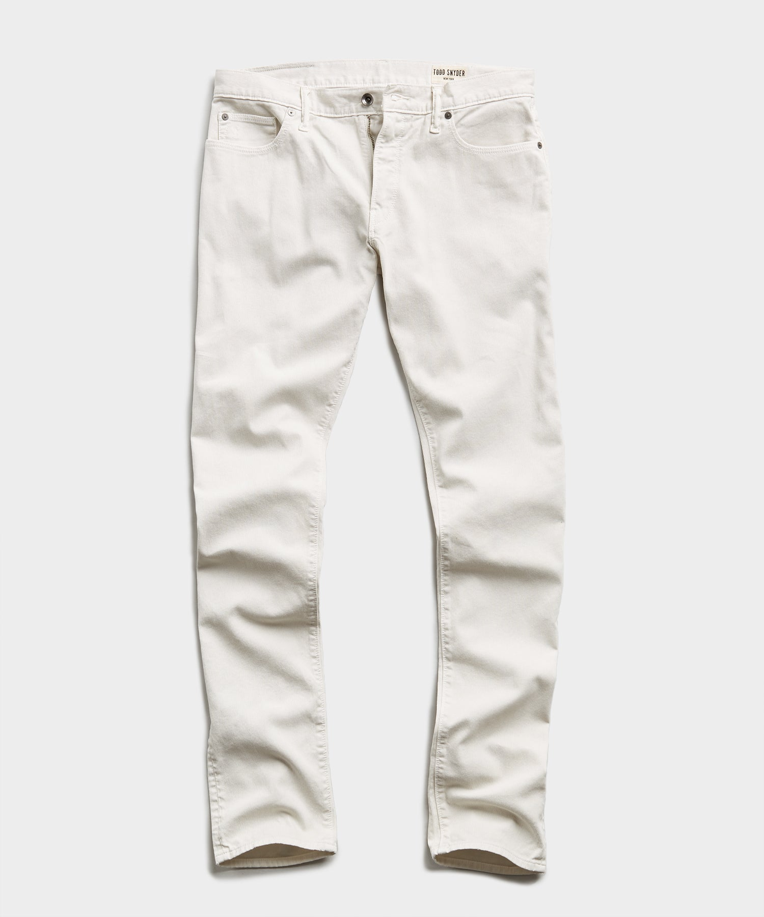 SLIM FIT 5-POCKET BEDFORD CORD PANT IN BIRCH