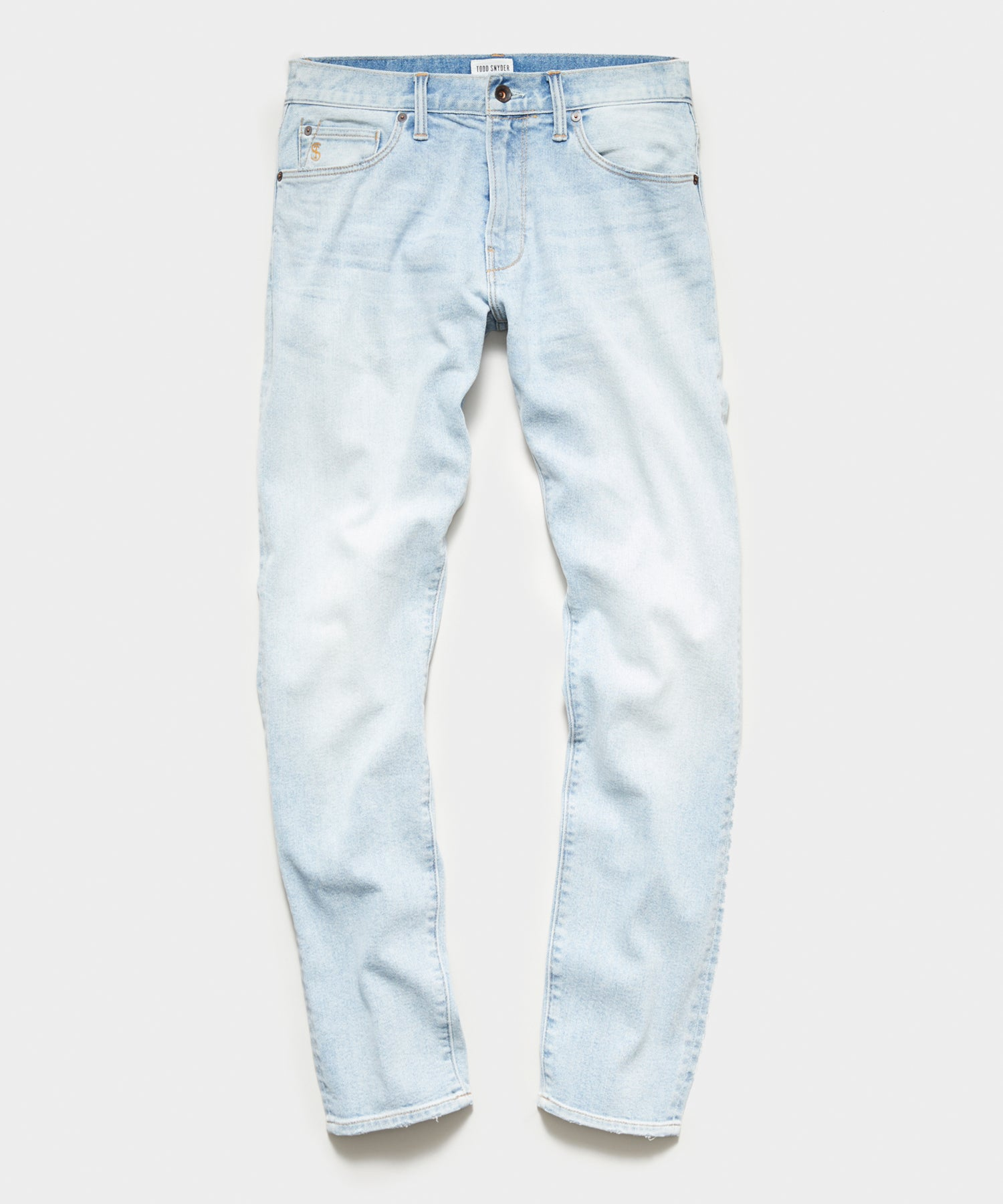 Slim Fit Stretch Jean in Bleachout Wash
