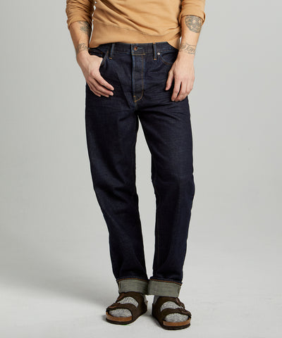 The Relaxed Jean in Indigo Rinse