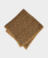 Mungai Jacquard Pocket Square in Brown