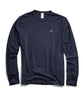 Champion Long Sleeve Back Graphic in Navy Alternate Image