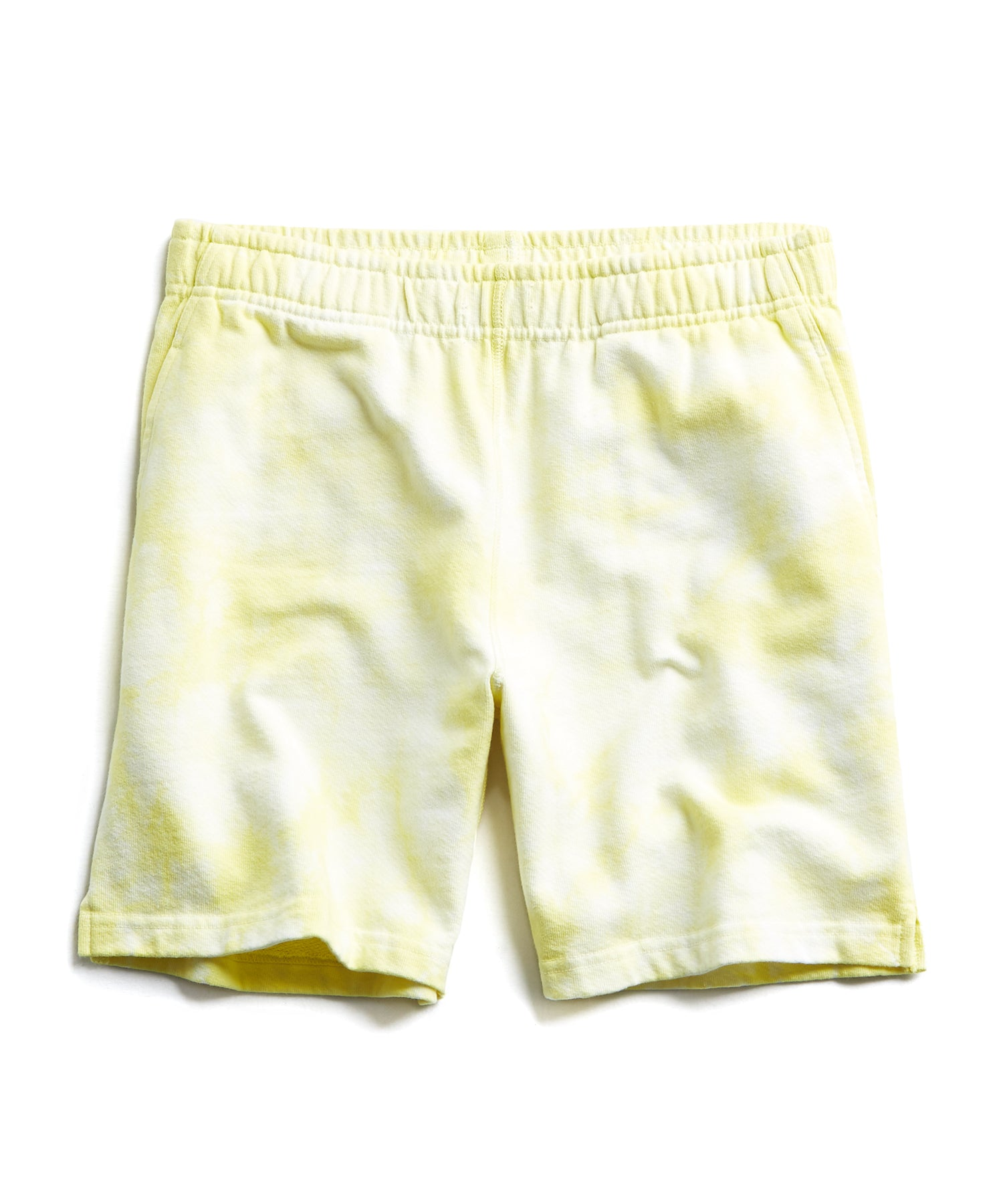 Fresh Lemon Tie Dye Warm Up Short