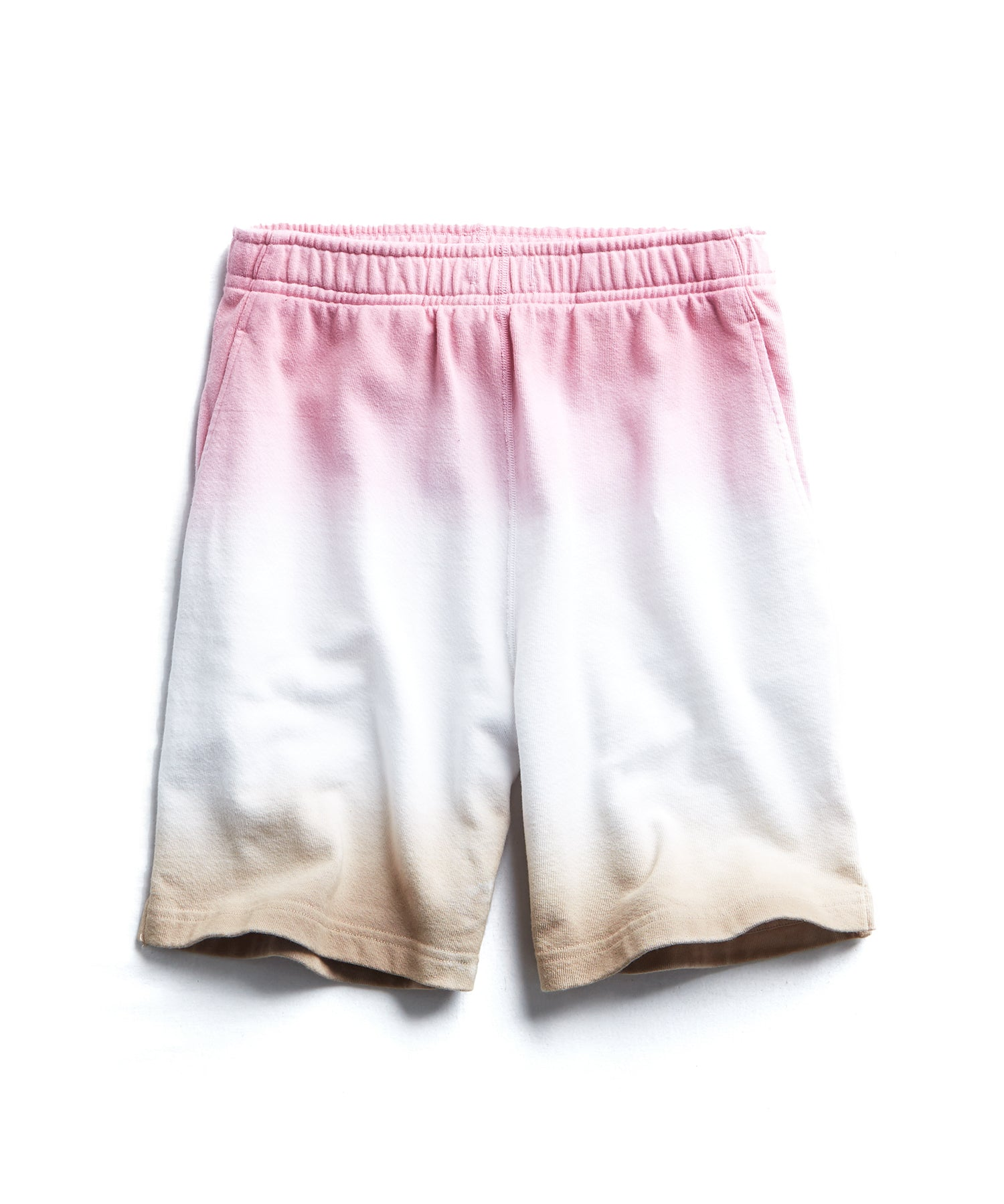 OMBRE DIP DYE WARM UP SHORT MELROSE