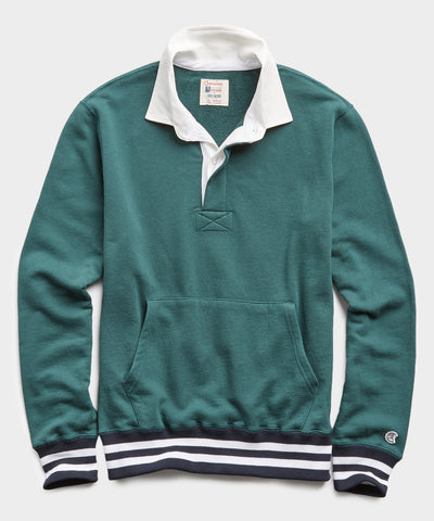 Rugby Sweatshirt in Storm Green