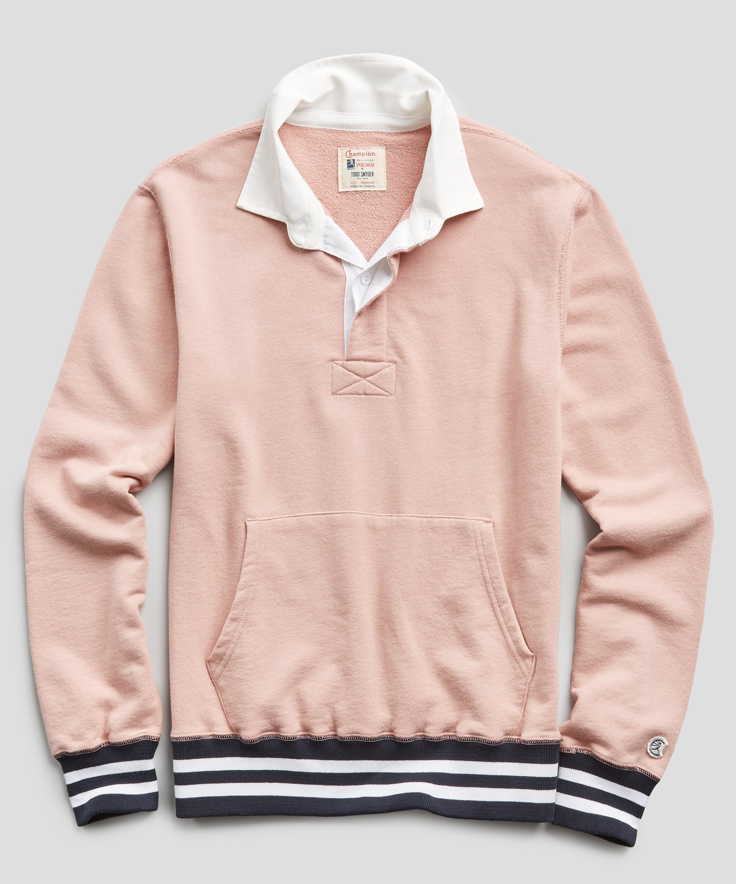 Rugby Sweatshirt in Desert Rose