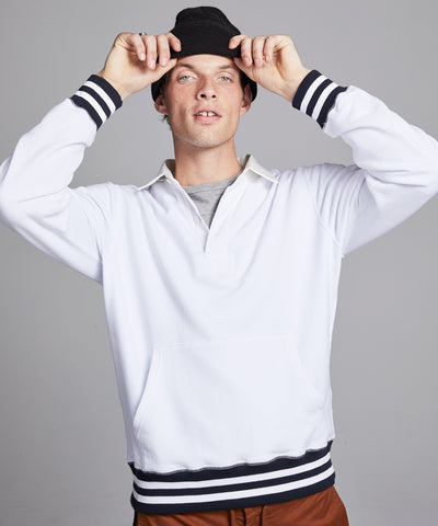 Rugby Sweatshirt in White