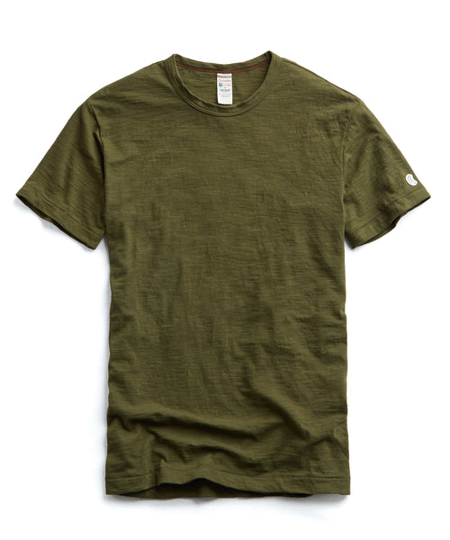 Champion Classic T-Shirt in Military Olive