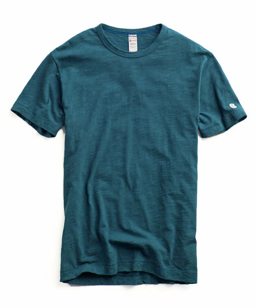 Champion Classic T-Shirt in Petrol Blue