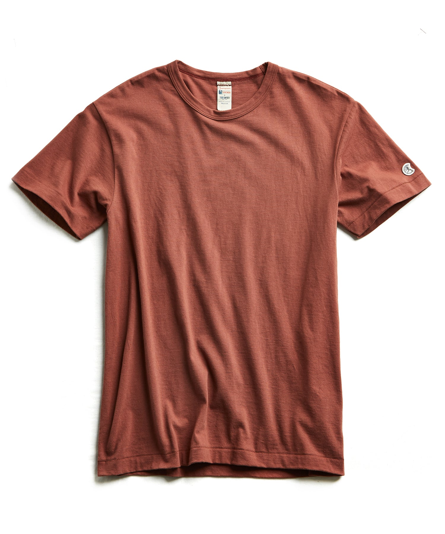 Champion Basic Jersey Tee in Rustica
