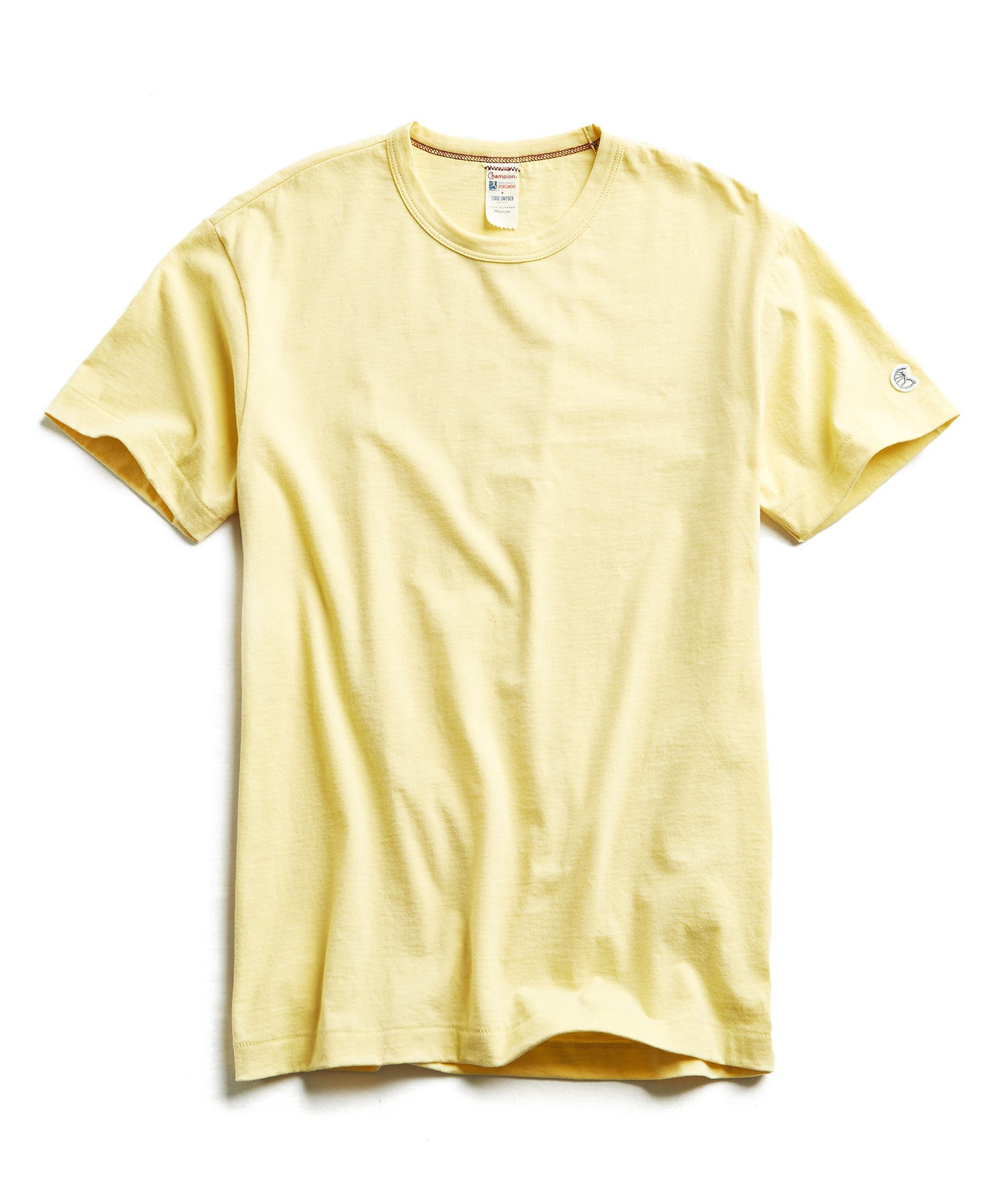 Champion Basic Jersey Tee in Fresh Lemon