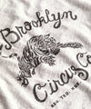 Brooklyn Circus Tiger Graphic Teephic Tee in Eggshell Mix