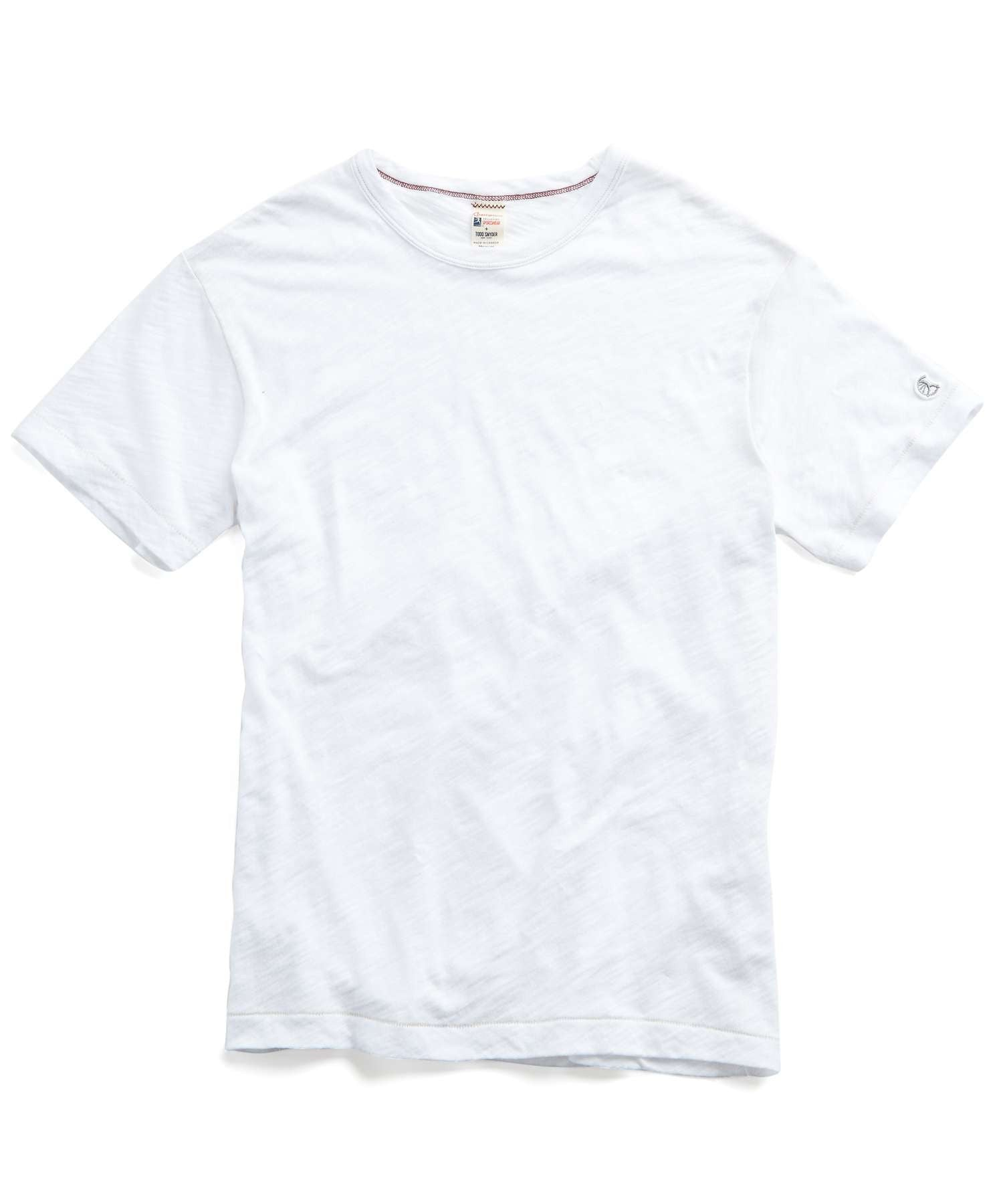Slub Champion Tee in White