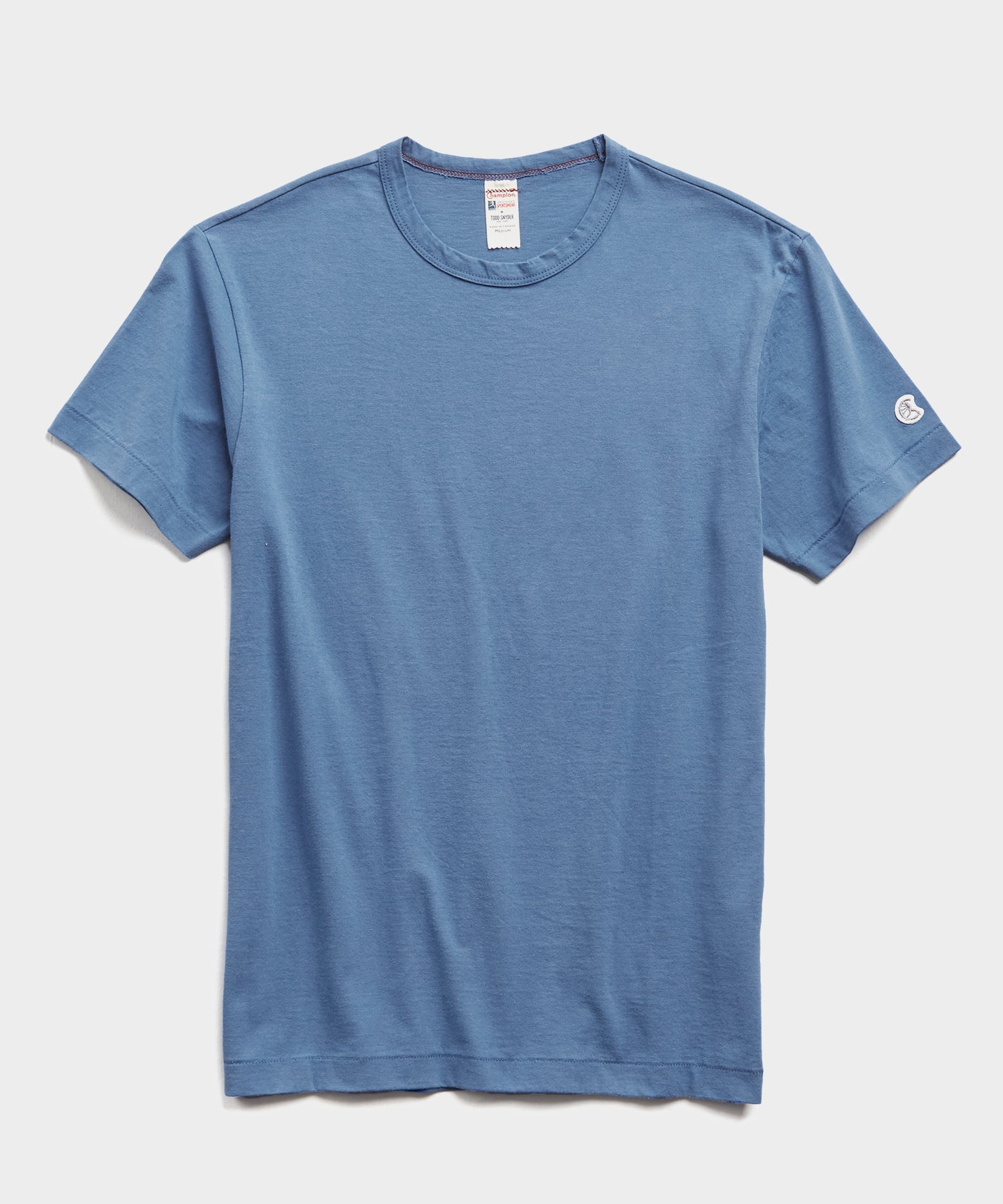 Champion Basic Jersey Tee in Cadet Blue