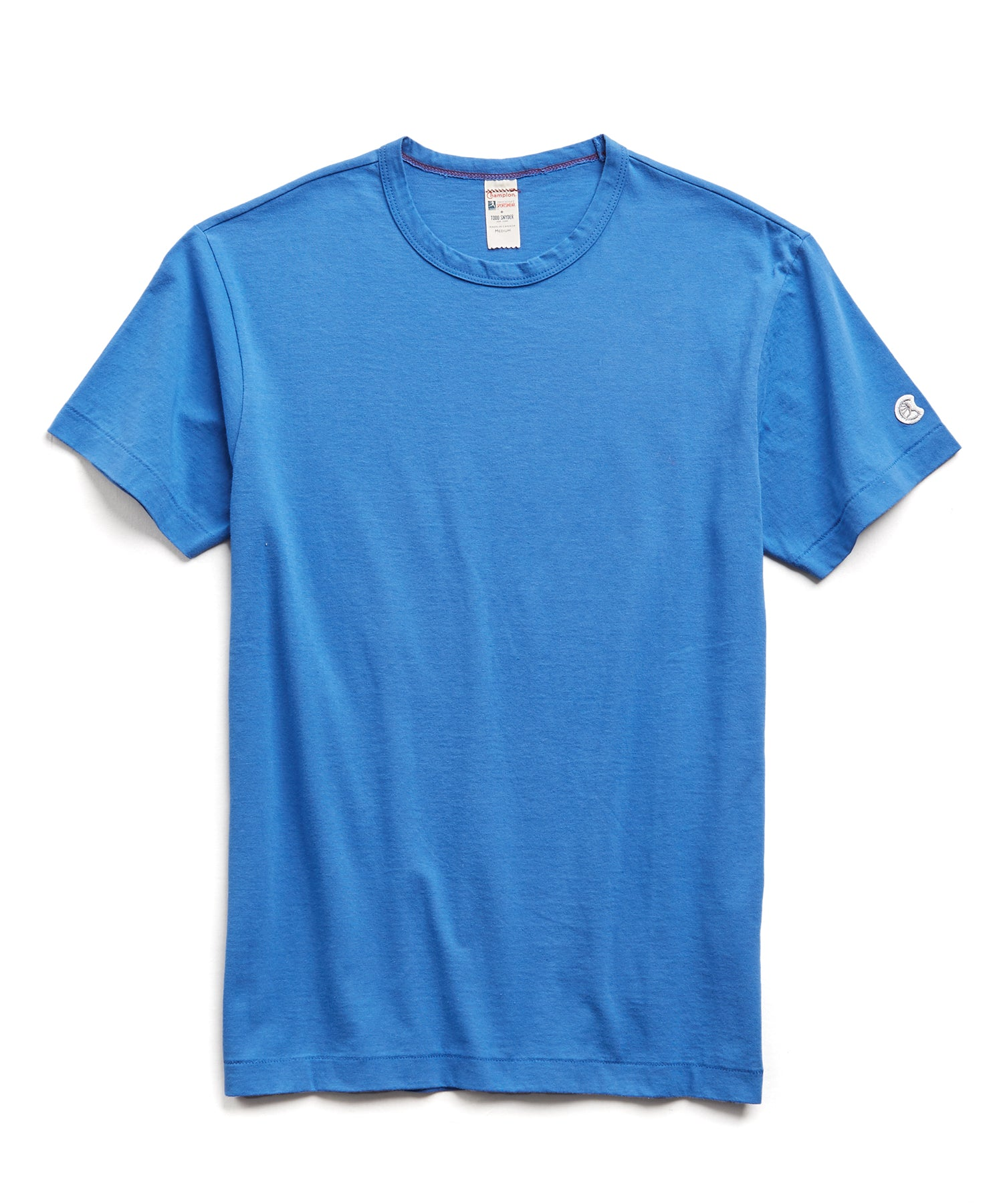 Champion Basic Jersey Tee in Yacht Club Blue