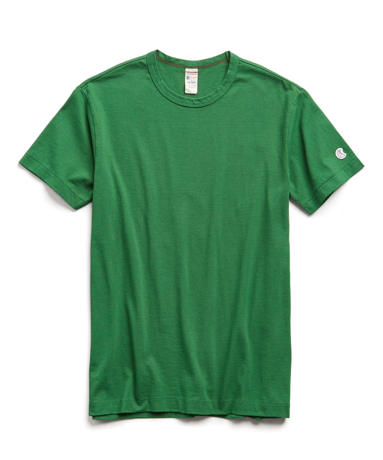 Champion Basic Jersey Tee in Cabana Green