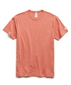 Champion Basic Jersey Tee in Orange Russet