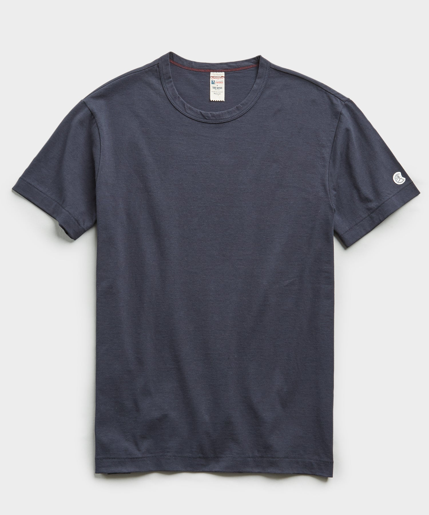 Champion Basic Jersey Tee in Navy