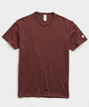 Champion Basic Jersey Tee in Deep Burgundy