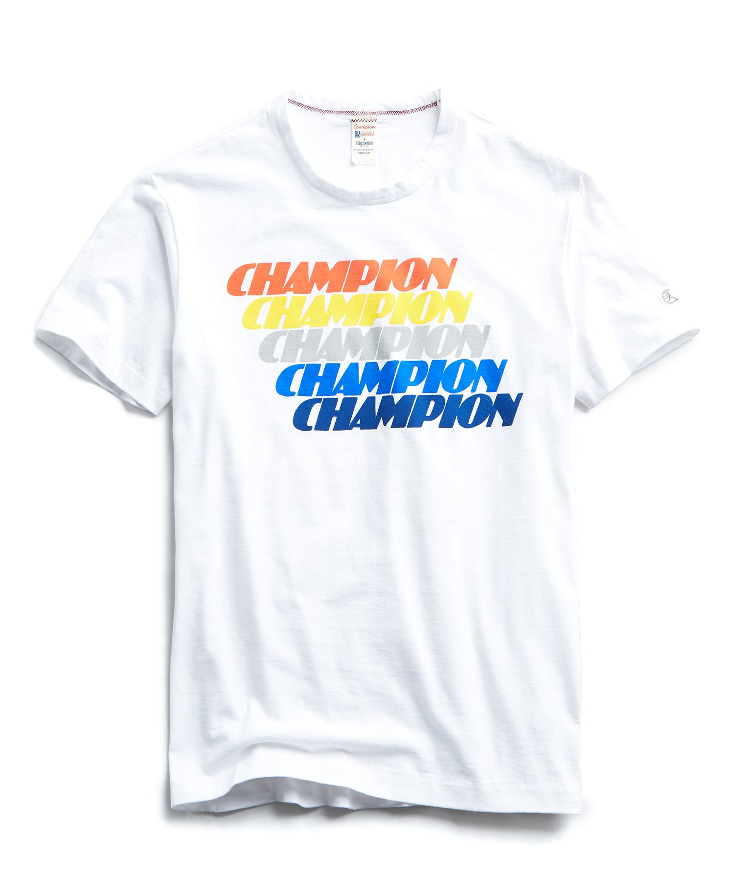 Champion Repeater Graphic Tee in White