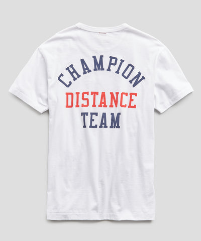 Champion Winged Foot Graphic Tee in White