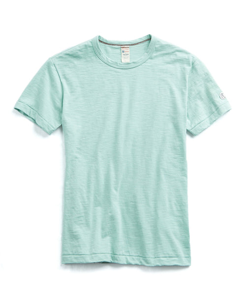 Champion Classic T-Shirt in Vintage Aqua