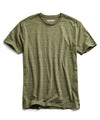 Heather T-Shirt in Olive Grove