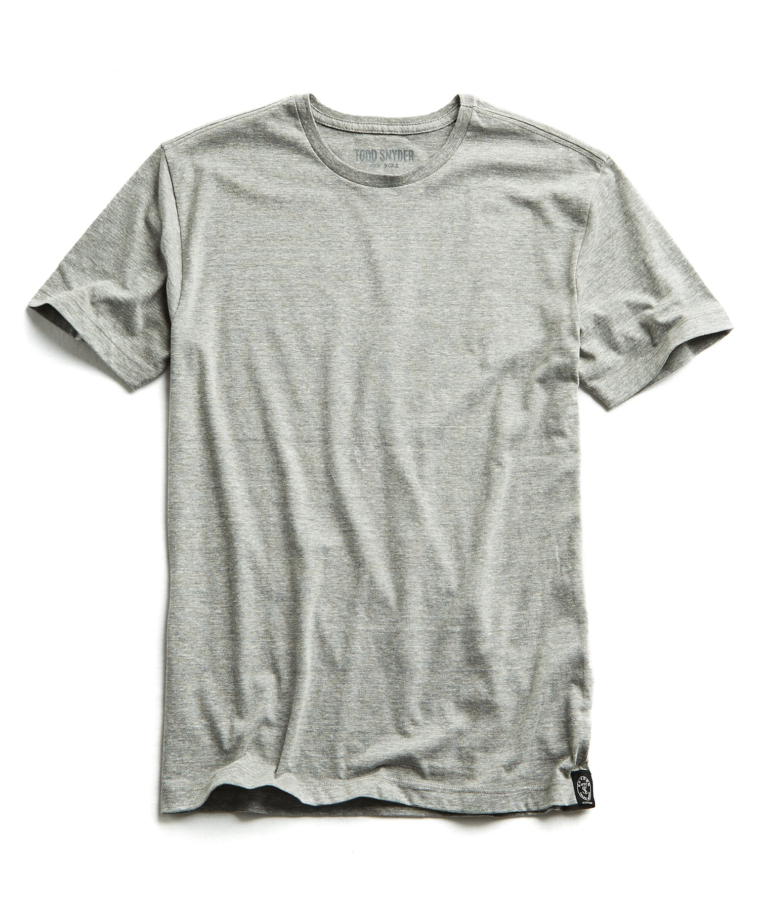 Heather T-Shirt in Pebble Grey