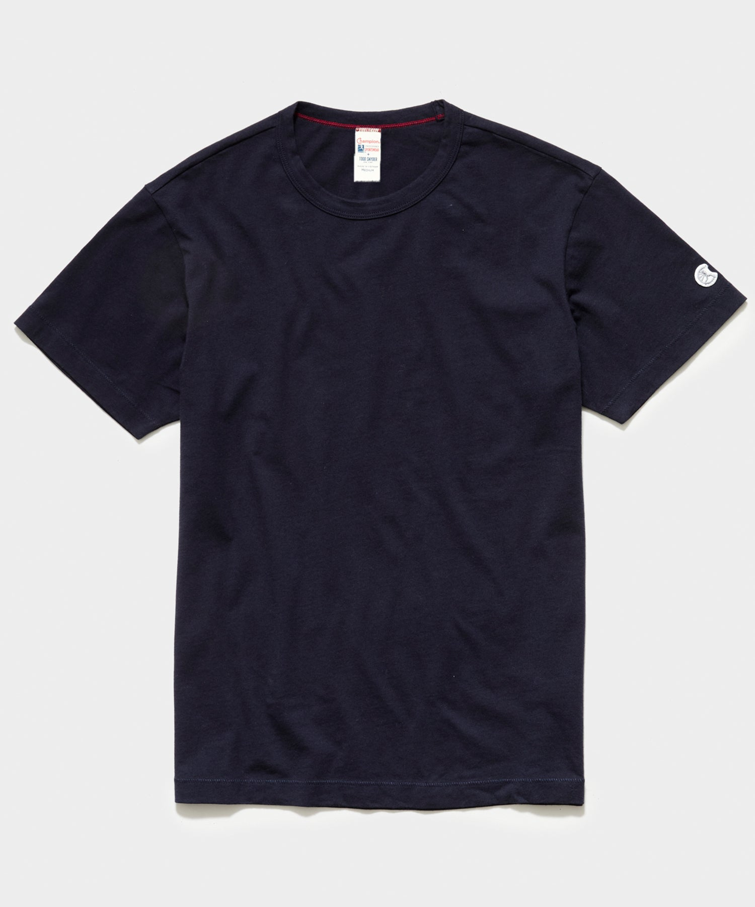 Champion Basic Jersey Tee in Original Navy