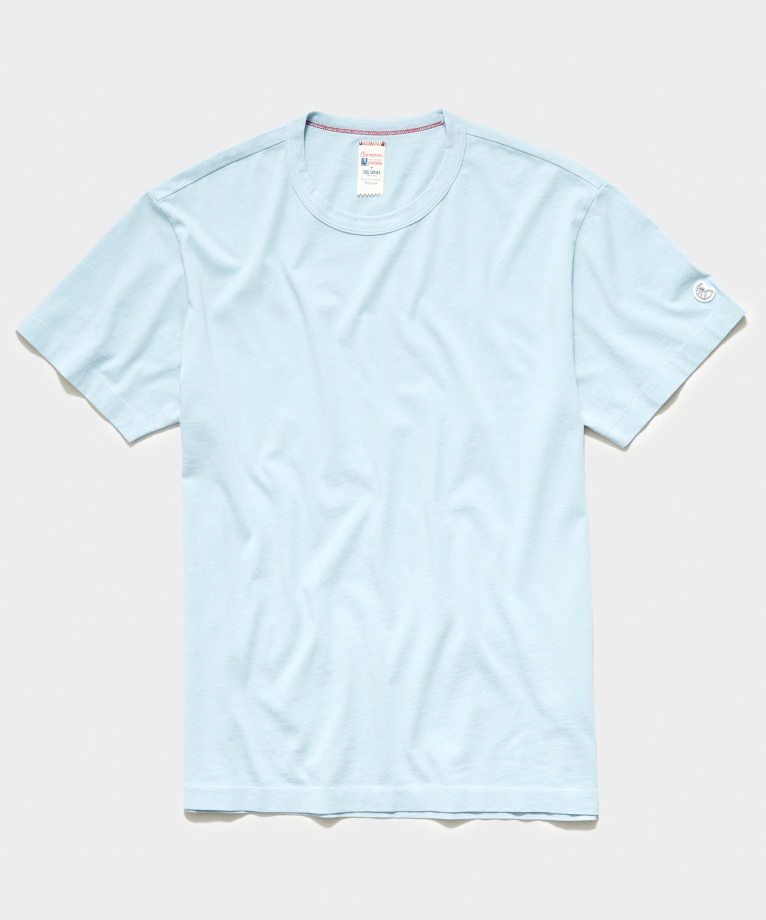 Champion Basic Jersey Tee in Powder Blue