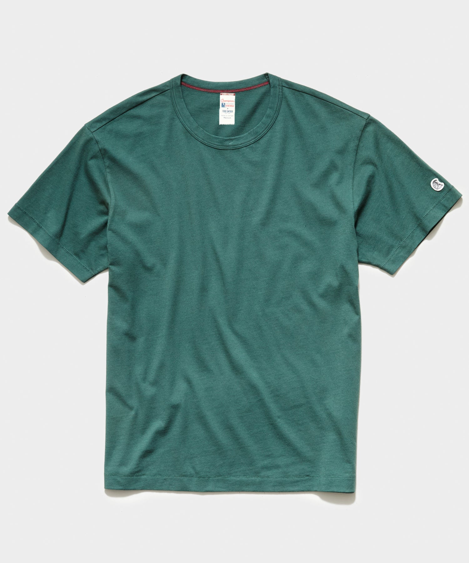 Champion Basic Jersey Tee in Hunt Club