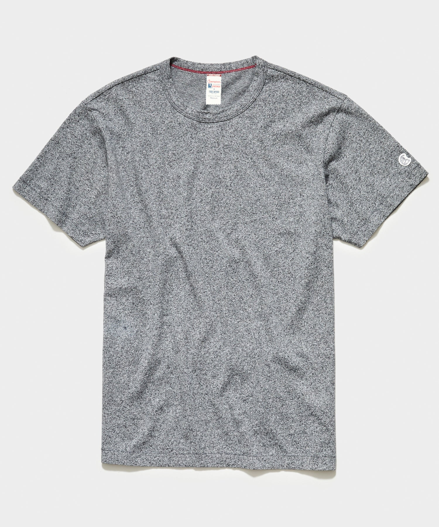 Champion Basic Jersey Tee in Salt and Pepper