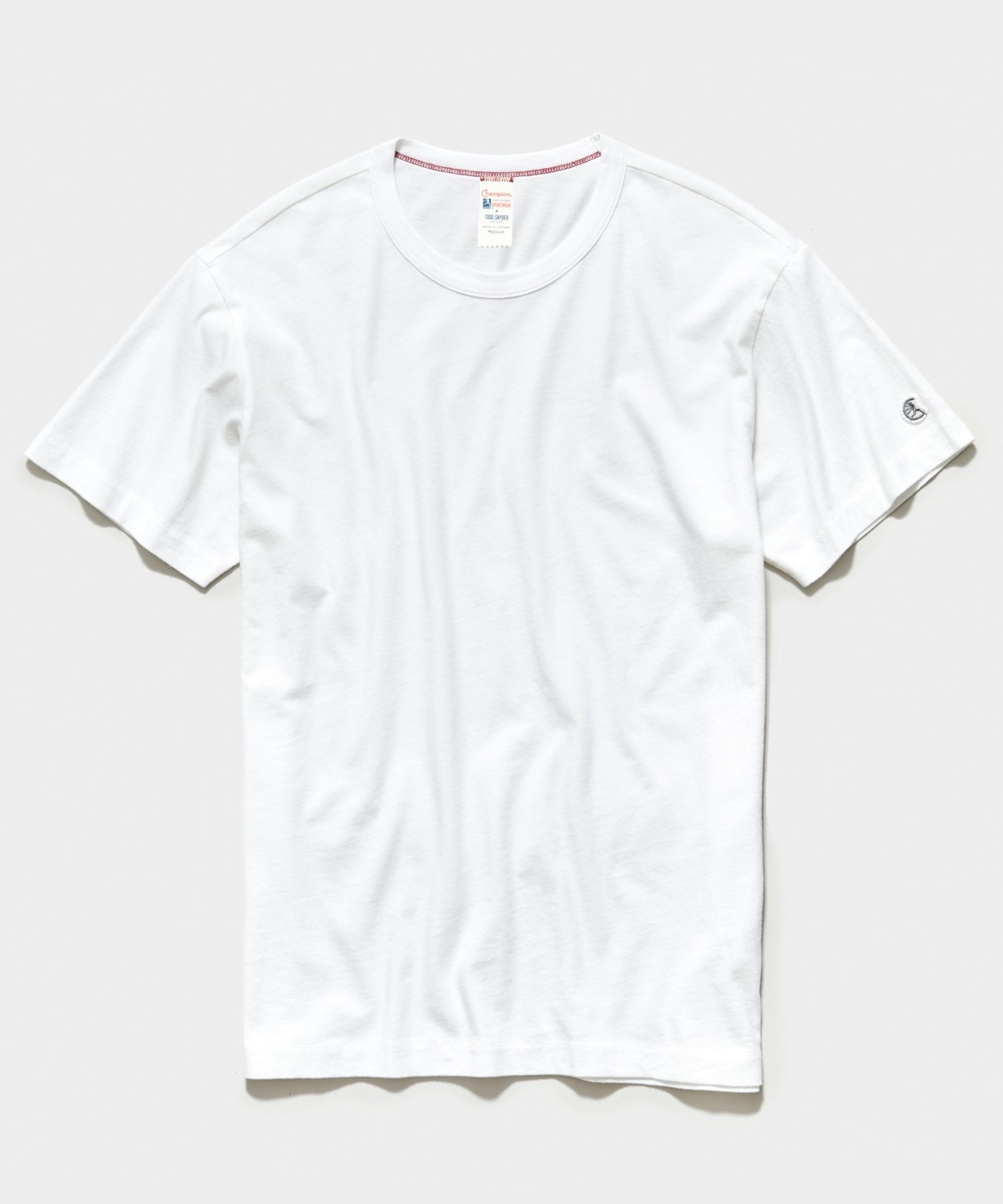 Champion Basic Jersey Tee in White
