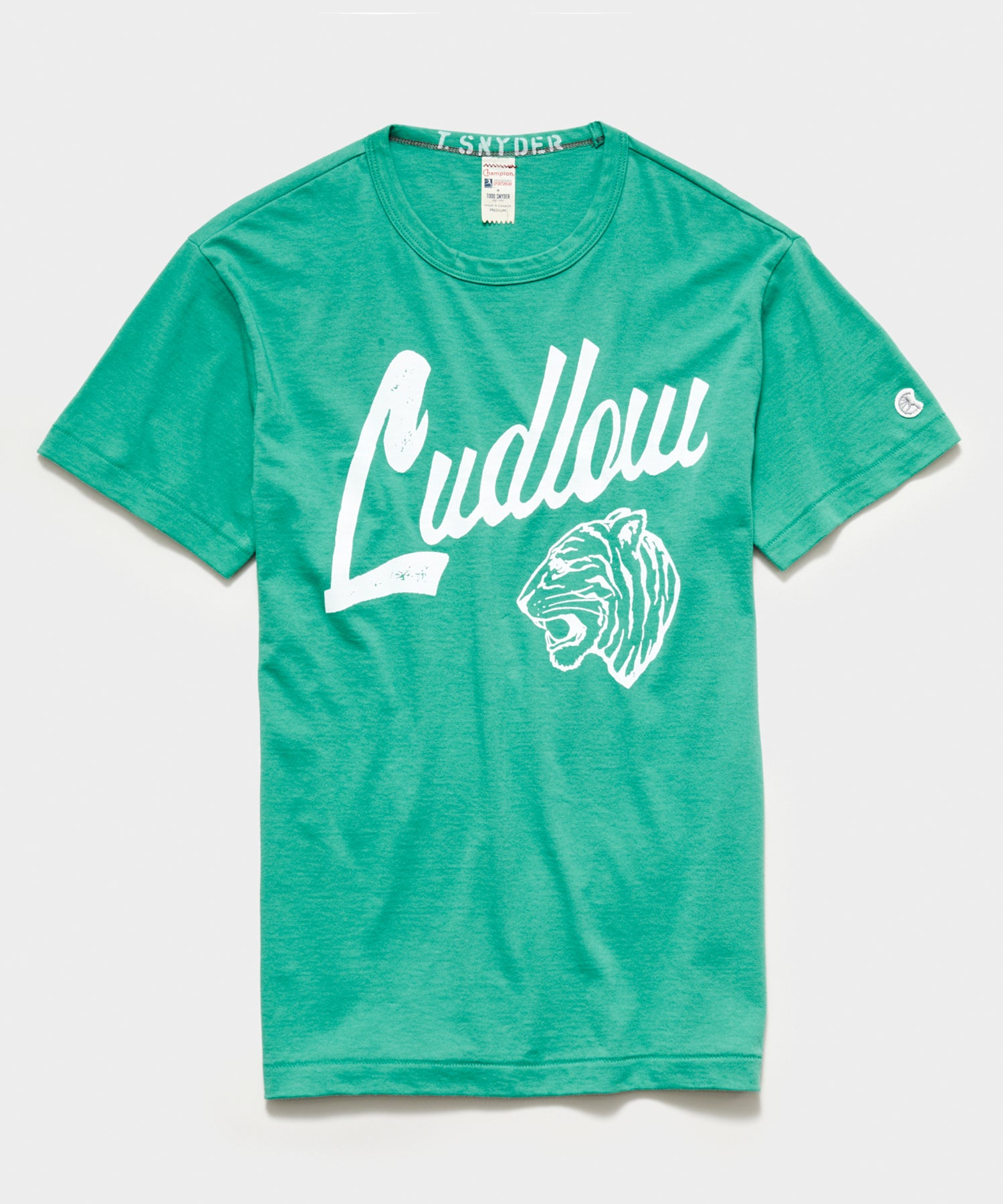 Champion Ludlow Tee in Greenhouse