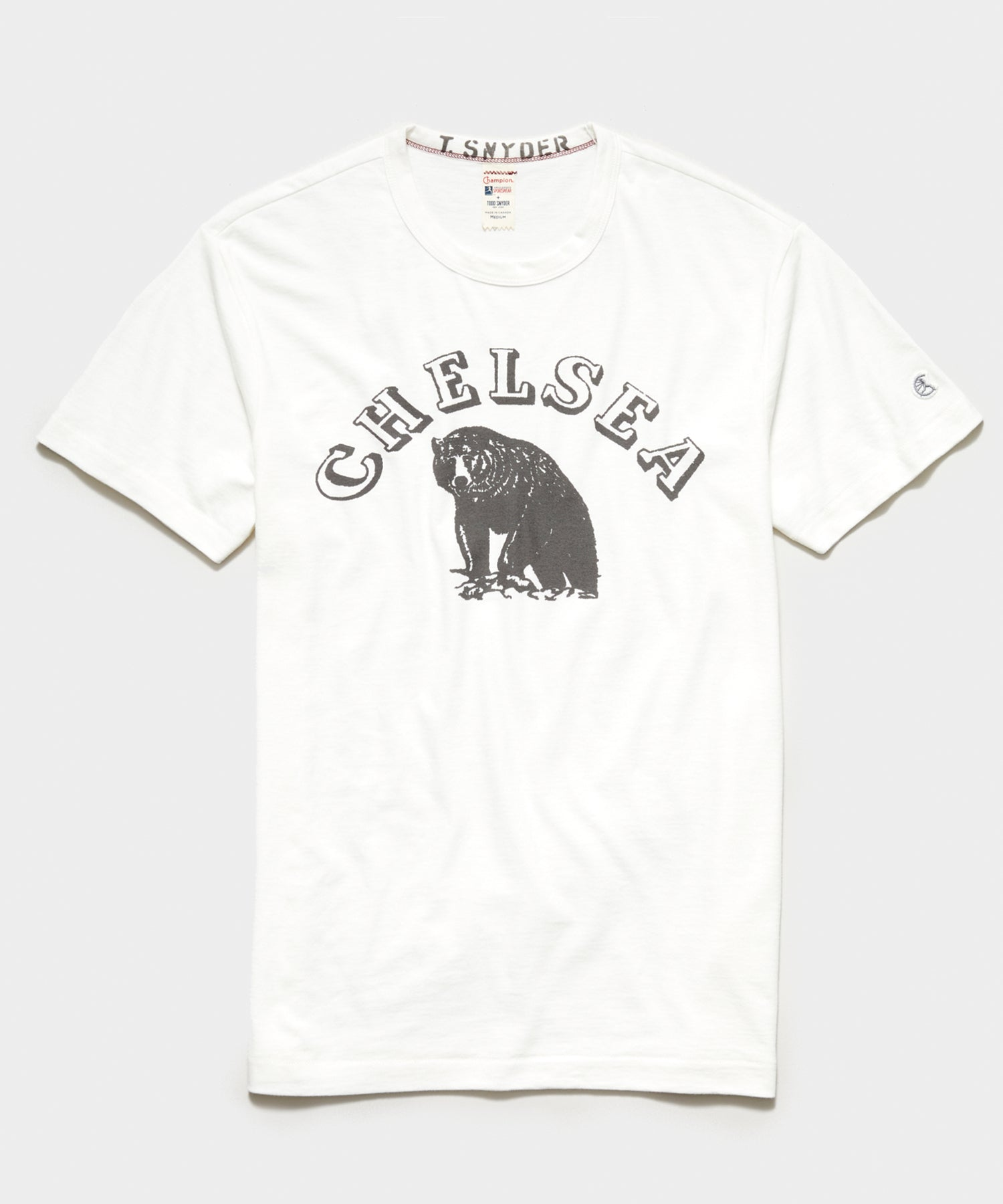 Champion Chelsea Bears Tee in Antique White